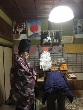 日待祭(夜)