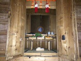 大呂神社本殿