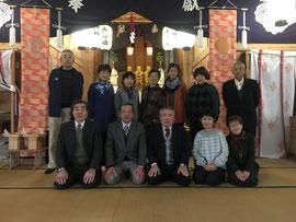 福栄中学校昭和39年古希年賀祭