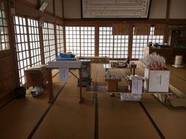 多里神社の迎春準備