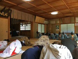 福成神社秋季大祭 宮司祝詞奏上
