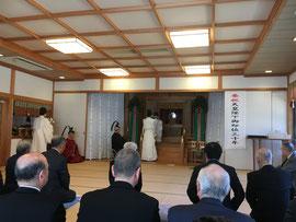 神殿祭 献饌