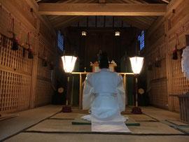神宮遥拝式