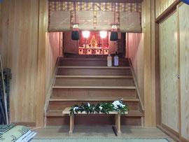 菅澤神社御神前