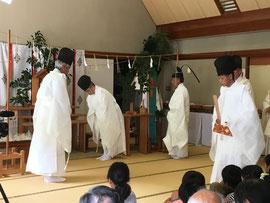 宣揚祭 献饌