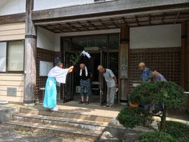 御旅所 萩山(つるぎ会館)