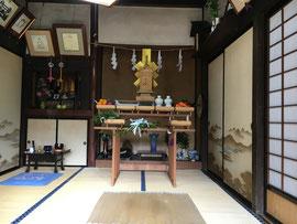 家屋解体祈願祭(8月22日)