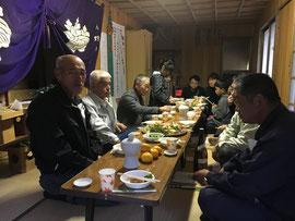熊野神社の直会