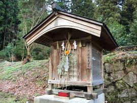 所管社 夜啼荒神社(1月11日撮影)