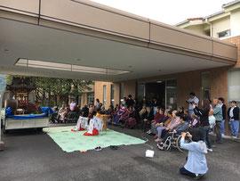 樂樂福神社の御旅所祭