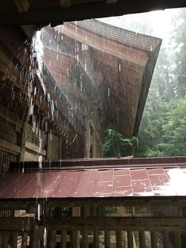9日(日)の大雨