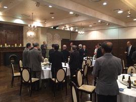 県総代会長の乾杯の発声
