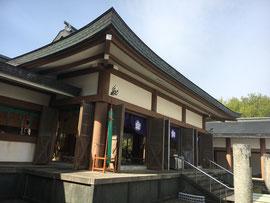 鳥取県護國神社拝殿
