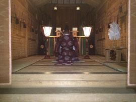 宵宮祭 玉串拝礼