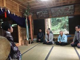 谷川神社 禰宜の挨拶