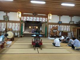 多里神社夏祭の祭典