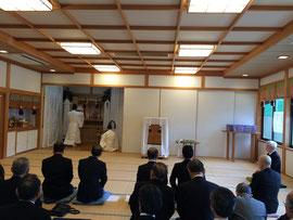 顕名霊社祭 献饌