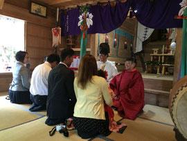高圀神社 七五三詣祈願祭