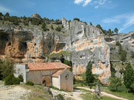 Canyon Rio Lobos - Camino Santiago Soria