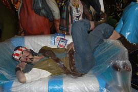 pirata descansando