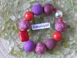 Granatapfel-Armband