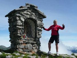 2100m Grubigstein in Lermoos