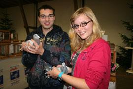 Den ersten Platz der Jugendgruppe teilten sich Andreas Griese und Natalie Schmidt