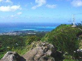 タポチョ山頂からの景色