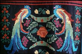Quezal, der Wappenvogel