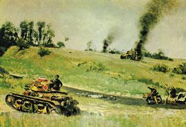 La 4ème Division Cuirassée dans la Bataille d'Abbeville du 28 au 30 mai 1940