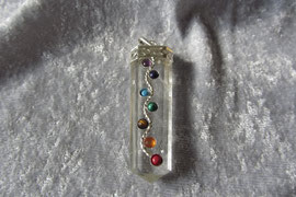 Chakra Bergkristall Schmuck 60 mm
