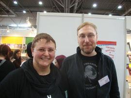 Mit meinem Kollegen Thomas Pregel