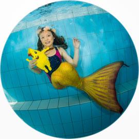 Bubble Swim Meerjungfrauen-Schwimmkurse Reka-Feriendorf Urnäsch Appenzell