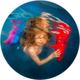 Bubble Swim Meerjungfrauen-Schwimmkurse Reka-Feriendorf Wildhaus St. Gallen
