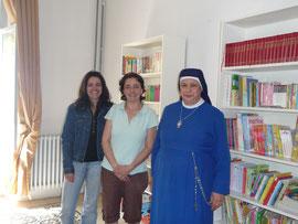 Mère Francoise, et la bibliothécaire