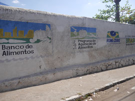 Lebensmittel-Ausgabestelle für die Sozialprojekte in Juazeiro do Norte/CE