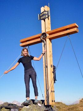 Gipfelkreuz Bischof neu