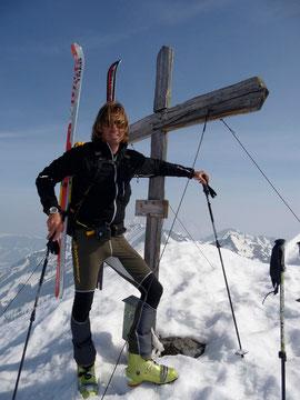 Gipfelkreuz Bischof alt