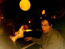 Besuch eines befreundeten Pianisten in einer Pianobar.