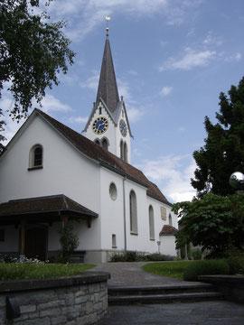 In Bubikon wurde eine Petition lanciert, damit die Kirche im Dorf bleibt