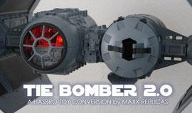 TIE-Bomber V2.0 mit Cockpitbeleuchtung