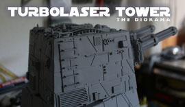 """drehbarer """"Laser-Geschützturm"""""""