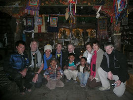visite au monastère de Gumba