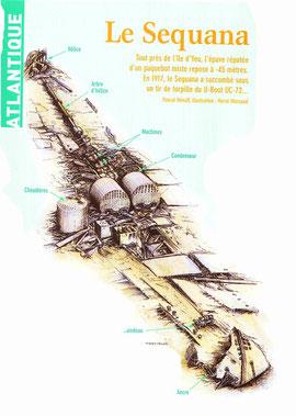 Hors série spécial Epaves n°3  Océans 2005  P Henaff H Marsaud