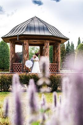 Marion & Dagmar beim Paarshooting im Volkspark Hamburg - Hochzeitsreportage mit freier Trauung - FOTOFECHNER