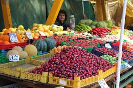 Markt in Sofia, Bulgarien