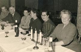 v.l.Minna Müller, Karl Müller, Margarte Meier, Elfriede Müller, Martha Driehorst, Anna Heyer