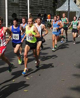 Christoph Uphues (Start-Nr. 53) lief in 31:32 Minuten neue persönliche Bestzeit auf der Kö.