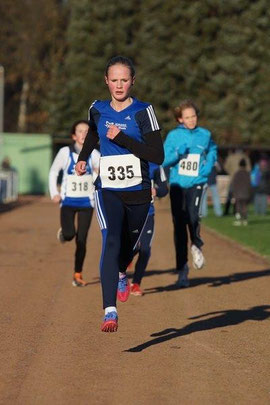 Anna Ueffing lief in 8:12 Minuten auf den zweiten Platz der W13