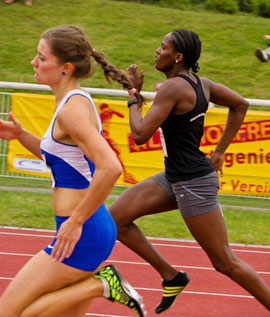 Esther Cremer lief am vergangenen Pfingstwochenende in Rehlingen die Stadionrunde in deutscher Jahresbestzeit
